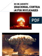 Día Contra Ensayos Nucleares