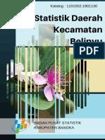 Statistik Daerah Kecamatan Belinyu 2016