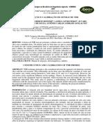 Construção e Calibração de Sondas de Tdr