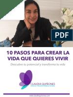 10 Pasos Para Crear La Vida Que Quieres Vivir CQE V10