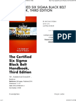 The Certified Six Sigma Black Belt Handbook, Third Edition _ ASQ