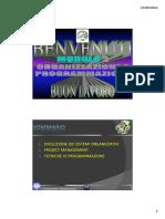 2 - Organizzazione e Programmazione