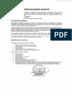 Especificaciones Tecnicas Limpieza Combustiones