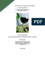 LABORATORIOS ELECTIVA Alcoholes y Fermentaciones 2015