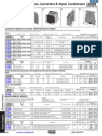 Surge Protection Devices, Converters & Signal Conditioners