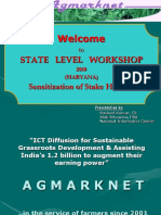 Agmarknet Presentation 25-3-10 Ambala