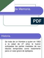 Caso HM de Memoria