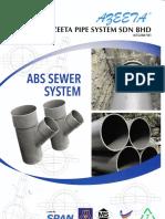 New Printed Sewerage Catalog