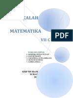 makalah matematika