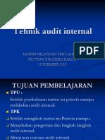 8. Tehnik Audit Internal