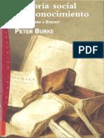 Burke Peter - Historia Social Del Conocimiento.pdf