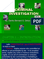 Criminal Investigation Review