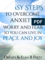 4 Easy Ways to Overcome Anxiety Book
