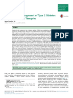 Pharmacologic Management of Type 2 Diabetes Mellitus: