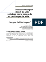Dejarnos Transformar (Georgina Z.)