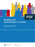 Dynamics of Disability and Social Inclusion in Ireland