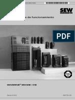 02. Instrucciones de Funcionamiento - Movidrive B - 16837703 ES