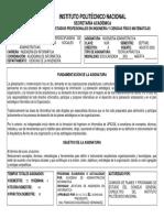 Temario de la materia Ingeniería Administrativa (IPN).