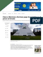 1- Gobierno Autorizó Capitalización de Movistar - ELTIEMPO