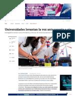 2- Carta de Universidades Sobre Recorte de Presupuesto en Ciencia - ELTIEMPO