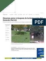 3- Antes y Después Del Paso Del Huracán Harvey en Houston - ELTIEMPO
