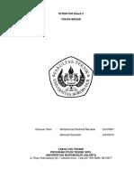 Tugas Besar Perencanaan Gedung Baja Universitas Borobudur Fakultas Teknik Sipil