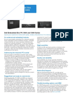 Specsheet Dell Embedded Box PC 3000 5000