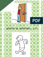 Verbos en Latín (Enunciados)
