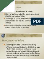 Ch. 11 Power Point Islam