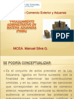 PROCEDIMIENTO ADMINISTRATIVO EN MATERIA ADUANERA (MARZO 2017).ppt