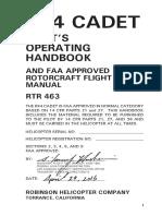 R44 CADET Flight Manual