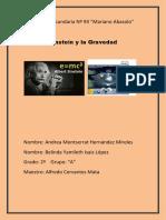 Einsten y La Gravedad