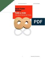 Todo y Mas - David Foster Wallace