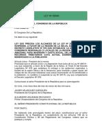 18.- LEY Nº 29343-PRECISA ALCANCES DE LA LEY Nº 29310.pdf