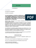 14.- LEY Nº 29310-SUSPENSION BENEFICIOS A LA SELVA.pdf