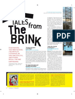 """San Francisco Magazine, October 2014, """"Tales From The Brink"""""""