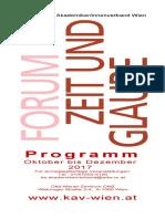 Programmfolder Herbst 2017