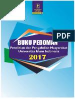 Buku Pedoman Ppm Dppm Uii 2017 Revisi 6 Februari 2017