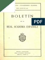 Bo Let in Real Academia Española