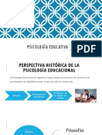 Hostoria de La Psicología Educativa ppt