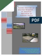 Rubber Check Dam