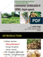 Organic Cultivation in Ginger by Jeebit