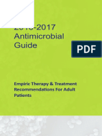 2016 2017 Antimicrobial  Guide