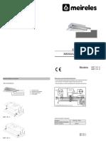 Meireles MET161 - Manual de Instruções