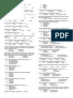 Preboard Examination Gen.ed. Set c