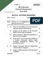 Software Engg June 2015
