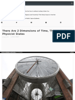 Two dimensions of time