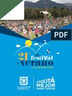 Programacion Festival Verano 2017