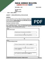 D081_TSB_010 Developer Initialization Outline