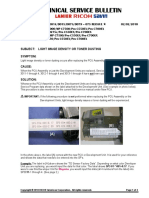Poor Copy Quality - SC350 MP4000_5000 TSB